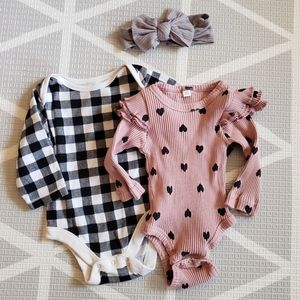 Onesie and Bow Bundle